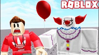 ESCAPE EVIL IT CLOWN PENNYWISE IN ROBLOX! (RedHatter Roblox)
