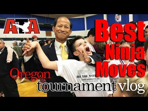 Best Ninja Moves Ever - ATA Salem Tournament