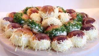 Saçaklı Sandviç Poğaça Tarifi  Sandviç Poğaça Nasıl yapılır