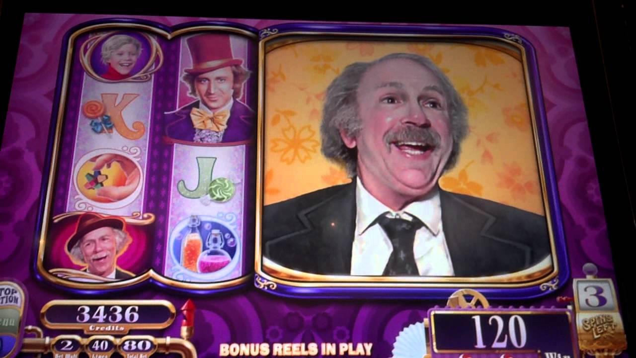 New Willy Wonka Slot Bonus Round Grandpa Joe Free Games
