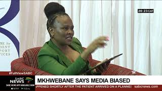 Mkhwebane accuses SABC of being biased in its reporting about her office