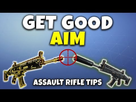 Fortnite Season 6 Assault Rifle Tips | How To Hit Your Shots!