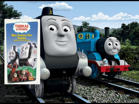 New Friends For Thomas And Other Adventures (CGI Version) | Custom DVD