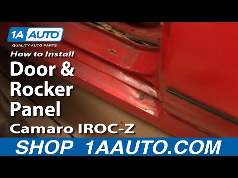 How To Replace Door And Rocker Panel 82-92 Camaro IROC-Z