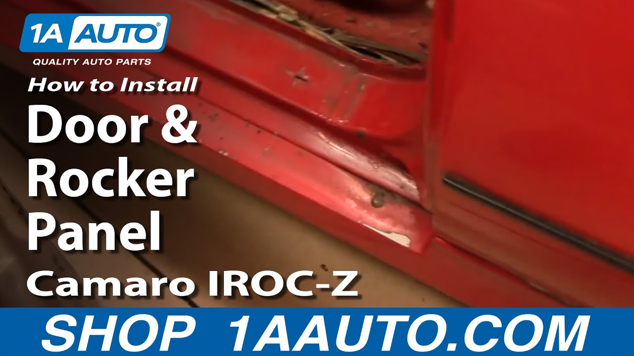 How To Install Replace Door And Rocker Panel Ground
