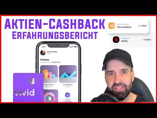 Vivid Money 💸 Banking App mit Aktien Cashback 💳 Erfahrungsbericht & Echtgeld-Test