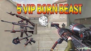 [ Bình luận CF ] Full 5 VIP Born Beast - Quang Brave