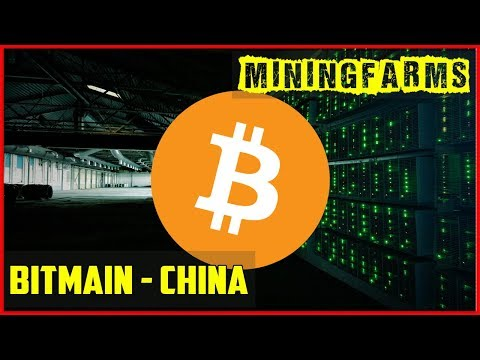 Inside Bitcoin Mining Farm