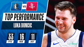Luka Stuffs The Stat Sheet in Road Victory!