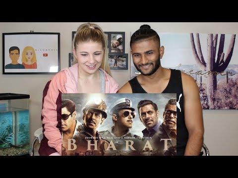 Reaction: BHARAT   Official Trailer   Salman Khan   Katrina Kaif