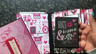 Love Valentines Theme Mini Albums-Available