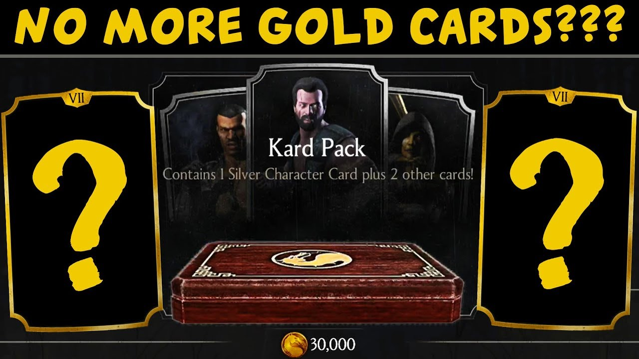 MKX Mobile  Huge Kard Pack Opening  Are There Still Gold Cards in Silver  Pack in 2018?