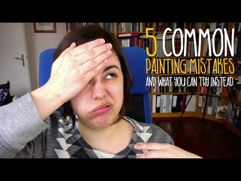 5 common painting mistakes: And what you can try instead