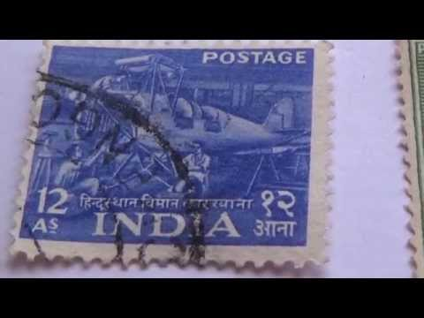 My Older India Postage Stamps
