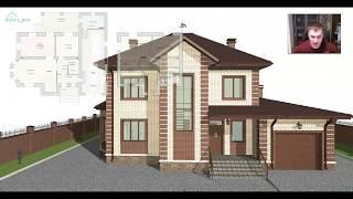 Проект удобного двухэтажного дома «Отрадный» D-401-ТП