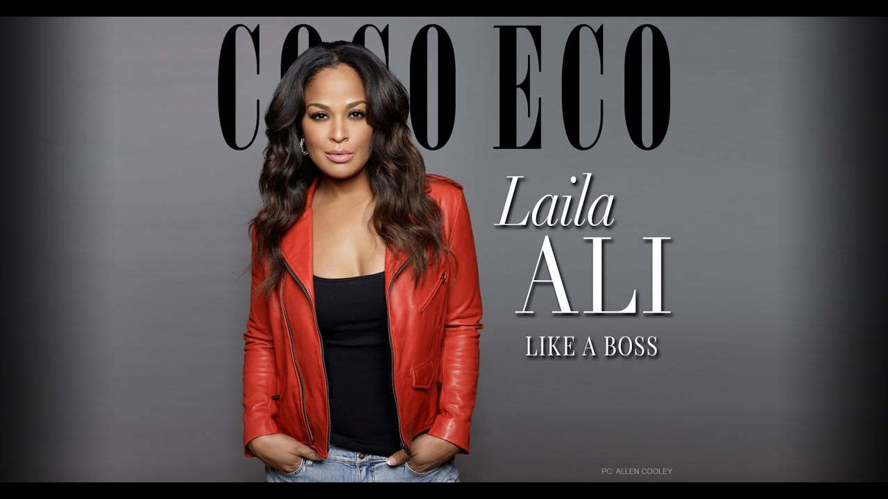 Coco Eco's October Cover Story . . . An Interview With Laila Ali.