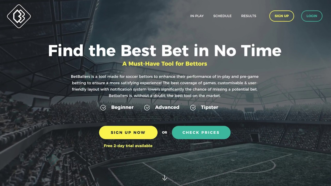 BetBallers - a tool made for football bettors to improve