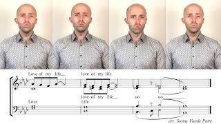 Download Tag tutorial // Love of my life (Sonny Vande Putte) - Barbershop Quartet