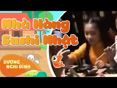 Dương Nghi Đình dùng buổi tối cùng FAN tại nhà hàng Sushi Nhật.