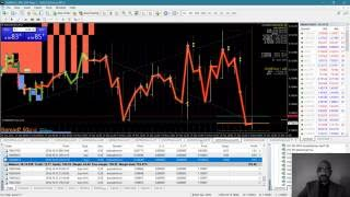 Hedging in Forex with MT4 on real account - 5phi Trading System - intra-day/week
