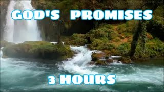 GOD'S PROMISES // FAITH //STRENGTH IN JESUS // 3 HOUR LOOP thumbnail