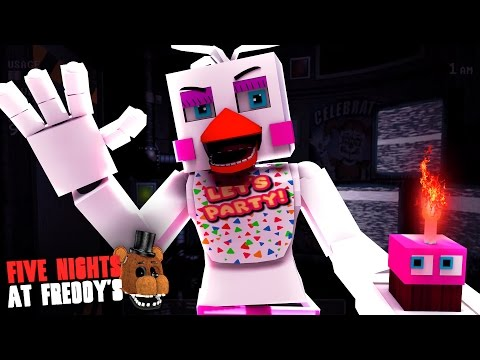 Minecraft: FIVE NIGHTS AT FREDDY'S #55 - FUNTIME CHICA REALMENTE EXISTE!?