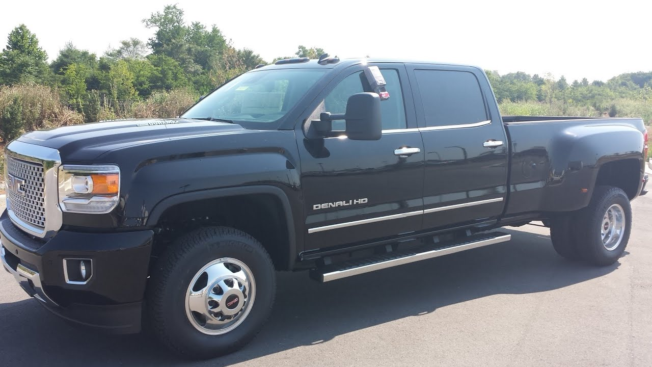 sold 2015 gmc sierra 3500 crew cab 4x4 drw denali black onyx duramax for sale call 855 507 8520. Black Bedroom Furniture Sets. Home Design Ideas