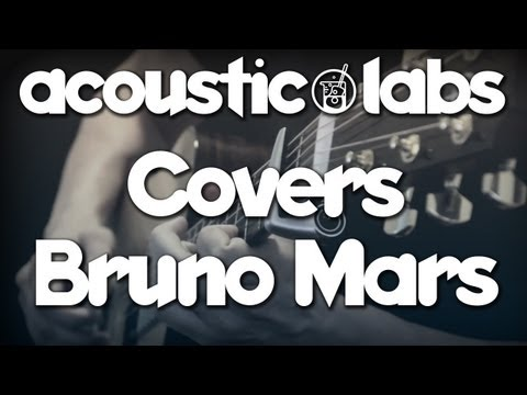 Bruno Mars   Locked Out of Heaven   Fingerstyle Acoustic Guitar