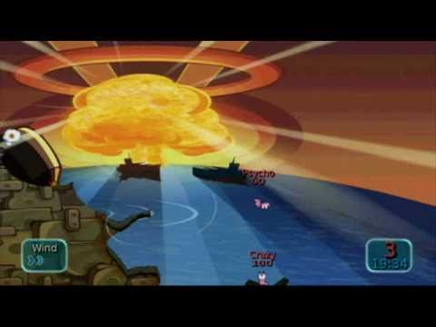 Worms Battle Islands - Nuclear Theme
