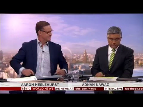 CJHM Newspaper Review on World Business Report -- BBC World (06/04/2016)