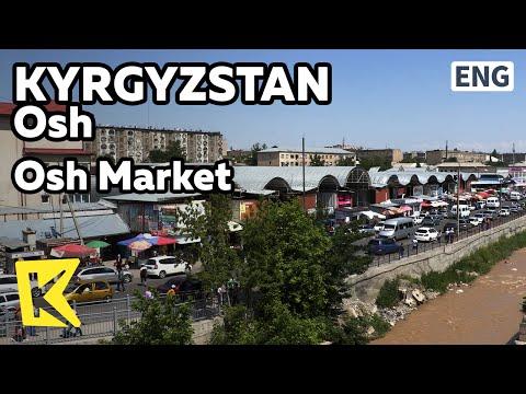 【K】Kyrgyzstan Travel-Osh[키르기스스탄 여행-오시]과거 실크로드의 최대 시장/Bazaar/Silk Road/Central/Market/Cherry/Kalpak