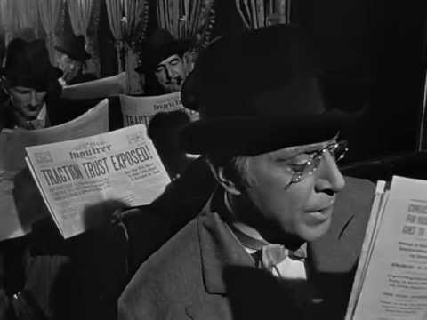 Orson Welles' CITIZEN KANE (1941) - I Am the Publisher of The Inquirer