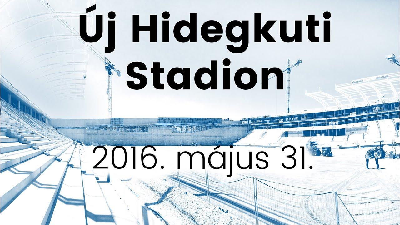 New Nandor Hidegkuti Stadium MTK Stadium 31 05 2016