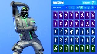 ARCHETYPE SKIN SHOWCASE MIT ALLEN FORTNITE DANCES & EMOTES