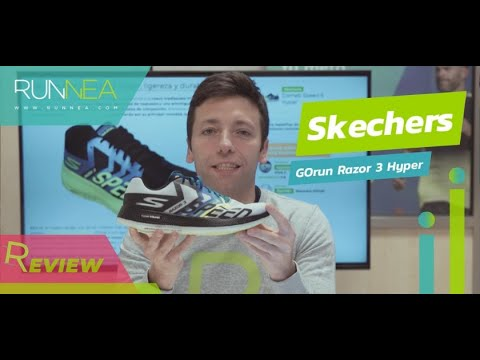 Skechers GoRun Razor 3 Hyper Review: Las zapatillas running tope de amortiguación de Skechers