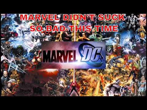 MARVEL DIDN'T SUCK SO BAD THIS TIME :  MARVEL COMICS VS DC COMICS : COMIC BOOK REVIEWS