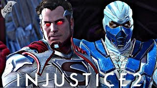 Injustice 2 Online - INTENSE MATCH AGAINST A SUBSCRIBER!