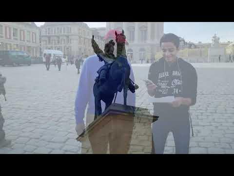 Versailles Interview english tourist