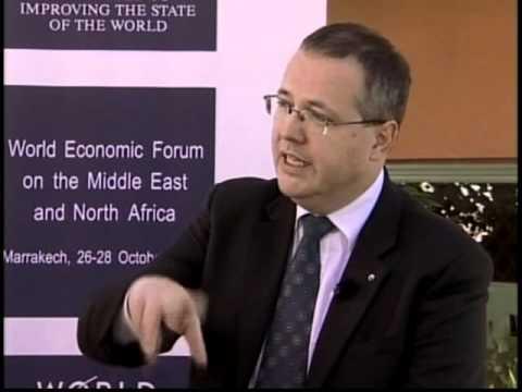 Wall Street- Andre Schneider المنتدى الاقتصادي العالمي - ول ستريت