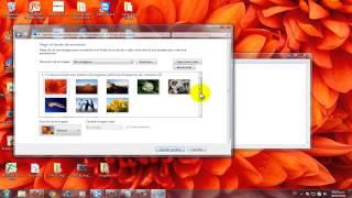 Como cambiar el fondo de pantalla de una pc Windows 7 Ultimate (FACIL) (SIN PROGRAMAS)