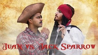 Juan vs. Jack Sparrow - David Lopez