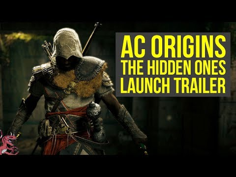 Assassins Creed Origins The Hidden Ones LAUNCH TRAILER & Short Gameplay Impressions AC Origins DLC