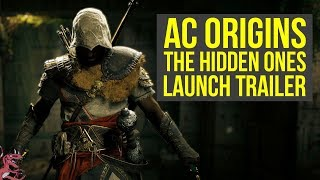 Assassins Creed Origins The Hidden Ones LAUNCH TRAILER  Short Gameplay Impressions AC Origins DLC