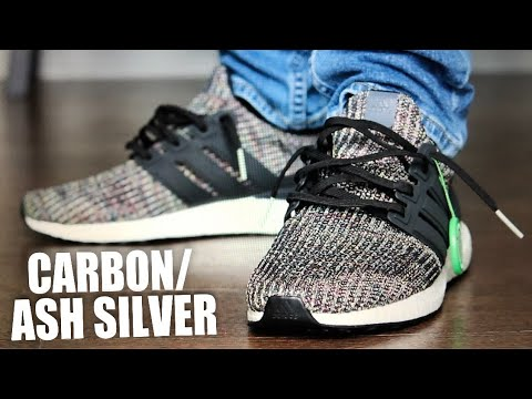 dafd6ada8fe Sneaker Unboxing and Review  air trafficking. FIRST LOOK ADIDAS ULTRABOOST  4.0 CARBON ASH SILVER ON FOOT