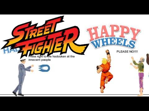 HAPPY WHEELS X STREET FIGHTER [DASHIE LEVELS]