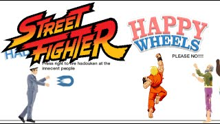 HAPPY WHEELS X STREET FIGHTER [DASHIE LEVELS]
