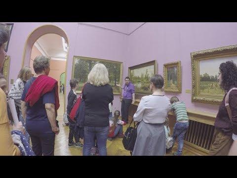 Belarus, Minsk, Art museum \ Минск, Художественный музей, Братья Ткачевы, Куинджи, Шишкин, март 2019