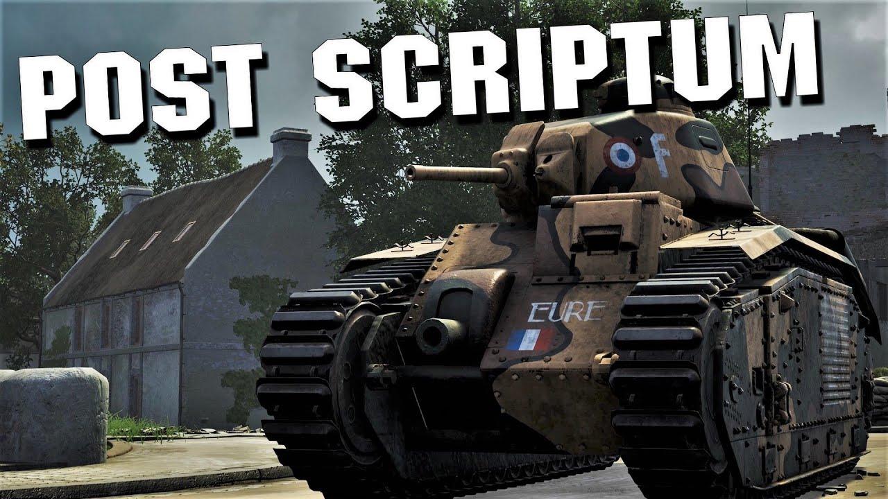 Post Scriptum Char B1 Rampage - 4K