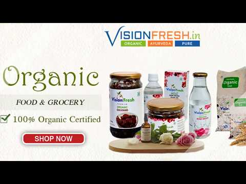 Vision Fresh: Certified Organic Food & Grocery Store online In India