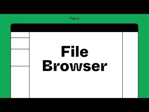 Figma tutorial: File browser